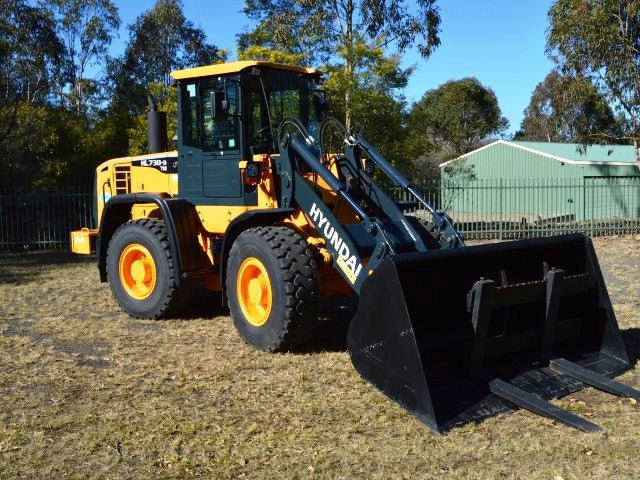 hyundai wheel loader for sale