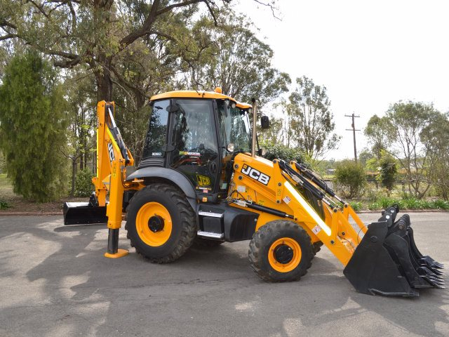 JCB 3CX & 4CX Backhoe