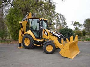 CAT 432F Backhoe
